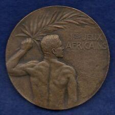 More details for egypt, alexandria, 1929 african games bronze medal, 40mm (ref. c8225)