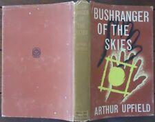 Bushranger of the Skies by Arthur Upfield - 1963, Reprint - Hardcover w/ Jacket