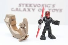 Playskool Star Wars Galactic Heroes Solo Sith Darth Maul w/ Speeder