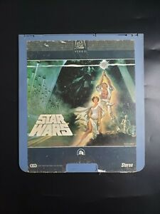 Star Wars Ced Capacitance Electronic Video Disc 1982 Fox First Release Vintage