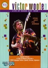 Victor Wooten Live at Bass Day 1998 Instructional Bass Dvd New 000320290