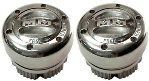 MILE MARKER MANUAL LOCKING HUBS KIT#104 SPLINE-19 FORD1966-04/GM/JEEP/MOPAR