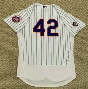 JACKIE ROBINSON REID-FOLEY size 46 #42 2021 New York Mets GAME USED JERSEY MLB