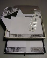 Edward Gorey Stationary Set 25 Sheets and Envelopes plus Stickers!