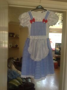 Gorgeous girls dress up ( dorothy ) from the wizard of oz ..age 7/8 years.
