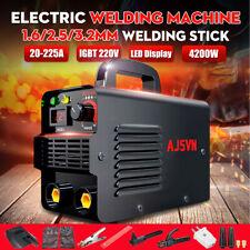 3/10PCS 225A 4200W MMA ARC Welder IGBT Mini Electric Welding Inverter Machine