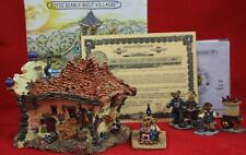 Boyds Bearly Built Villages The Roxbeary Theater Le#19017V w/Accessory Set Nib