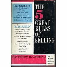 B000GS7Z5O The 5 Great rules of Selling