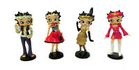 """Betty Boop mini figurines - Through the Ages - 40/50/60/70/80's - 2 1/2"""" tall"""