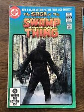 Saga of the Swamp Thing DC comics Lot of 14 including #25-1st appearance Alan M