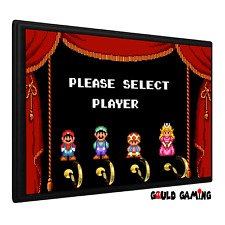 Super Mario Bros. 2 Player Select Key Holder Keys Organizer Hanger Wall Mount