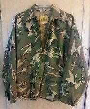 VINTAGE IDEAL UN-INSULATED FULL ZIP HUNTING JACKET IN WOODLAND CAMO Camouflage~M