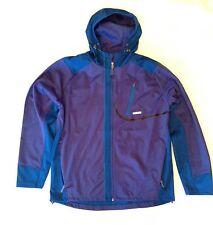 Men's Avalanche  Stretch Softshell Jacket Batik Blue Size Large L