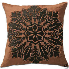 Embroidered Velvet Decorative Cushion Covers