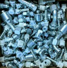 125 x GATES Hydraulic Hose Crimp Fittings, Adapters Bulk Surplus Parts Lot #11