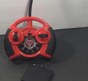 DISNEY PIXAR CARS 2 McQueen Air Hogs Remote Controller & Battery Cover (No Car)