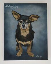 Custom Pet Portrait Dog Cat Animal Horse Rabbit painting acrylic gift