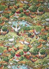 REMNANT - 'PROVINCIAL COUNTRYSIDE' SCENIC - FABRI-QUILT DESIGNS