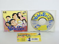 PC-Engine SCD YAWARA 2 II with SPINE * PCE Grafx Japan Game pe