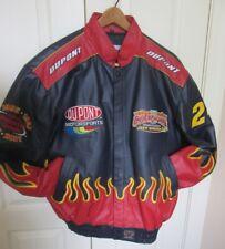 Jeff Gordon 2001 Chase Authentics 4-Time Champion LeatherJacket Large  NWOT