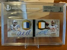 2012 Topps Five Star Andrew Luck RG3 Dual RC Patch Auto Book 14/15 Colts mint 9