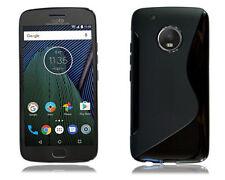 Fundas y carcasas color principal negro de silicona/goma para teléfonos móviles y PDAs Motorola