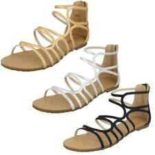 Sandali e scarpe sintetici marca Spot On con cinturino per il mare da donna