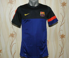 FC Barcelona Training Jersey Nike Blue Shirt Size S Football / Soccer Dri-Fit