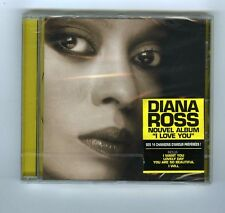 CD (NEW) DIANA ROSS I LOVE YOU