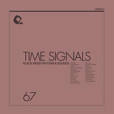 Klaus WEISS Rhythm and Sounds Time Signals LP Vinyl European Trunk 2017 25