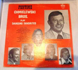 Chmielewski Bros. Funtime Play Dancing Favorites Vinyl LP Record Album Polka