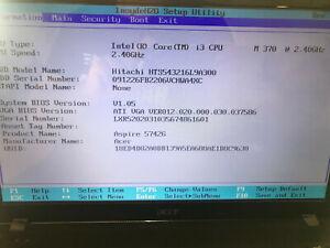 Acer Aspire 5742G mit i3 und 4GB Ram Notebook Mainboard 100% Funktion, geprüft