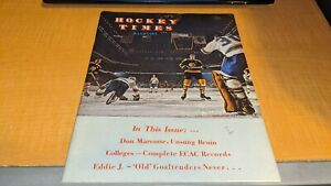 1971 Hockey Times Boston Bruins Hockey Magazine Phil Esposito on Cover