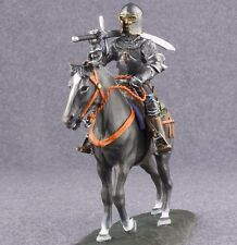 Medieval 1/32 Knight Painted Figure Cavalry Horseman Metal Toy Soldiers 54mm