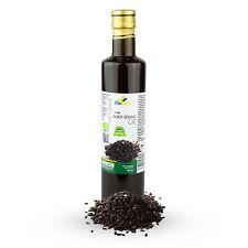 Certified Organic Cold Pressed Black Sesame Oil 500ml Biopurus