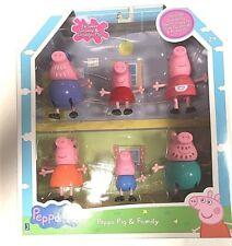 Peppa Pig And Family Figure Grandpa Granny Exclusive Set Of 6 Character Toys
