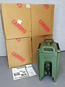 British Army - Military - Cambro UC250 Insulated Hot & Cold Drinks Dispenser