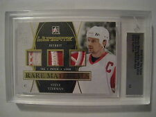 Yzerman 2014-15 Leaf ITG Ultimate Memorabilia RARE MATERIALS TAG PATCH LOGO  1/3