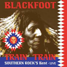 LP Vinyl Blackfoot Train Train Southern Rock's Best Live