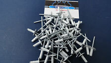 "Vintage Snowmobile Merc Mercury,Large Head White Rivets 50 pcs 3/16"" Rivets"