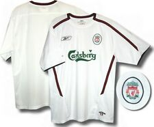 MEDIUM BOYS LIVERPOOL VINTAGE 2003 - 2004 REEBOK AWAY SHIRT
