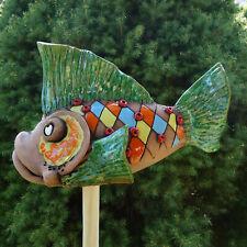 Keramik Schnecke Dekoration Figur Skulptur Beet Terrasse Garten Wohnen Tiere