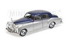 ROLLS ROYCE SILVER CLOUD II - 1960 - silver/blue - Minichamps 1:18  100134902