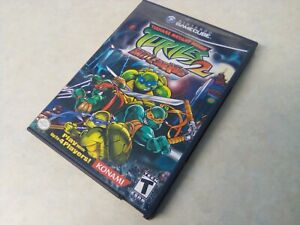 TEENAGE MUTANT NINJA TURTLES II 2, NTSC-US, COMPLETE, NINTENDO GAMECUBE GAME