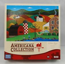 "Mega Puzzles Americana Collection ""Indian Summer"" 500 Pieces!"