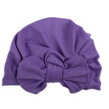 Cute Newborn Baby Infant Girl Toddler Comfy Bowknot Hospital Cap Soft Beanie Hat