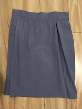 SCANDALS AUSTRALIA Size 14 Vintage Purple Pencil Skirt Dress Button