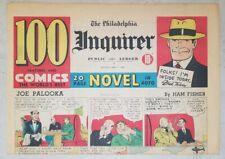 Joe Palooka by Ham Fisher. Three 1943 full-page Sunday newspaper strips