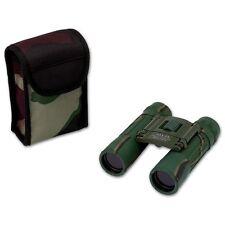 Binoculars w/ Case Compact Camo 10x25 Hunting Camping Survival Camouflage Bird