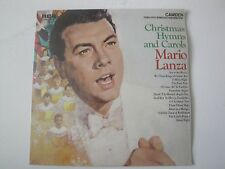 MARIO LANZA CHRISTMAS HYMNS AND CAROLS VINYL LP 1963 RCA CAMDEN SILENT NIGHT EX